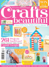 Crafts Beautiful July 2021 Front Cover.