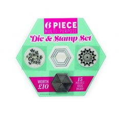 Geometric Stamp & Die Set