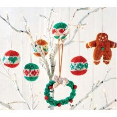 23 Quick Christmas Characters & Decorations Knitting Pattern