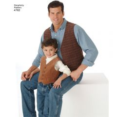 Vest and Ties Sewing Pattern