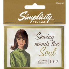 Vintage Magnet- Sewing