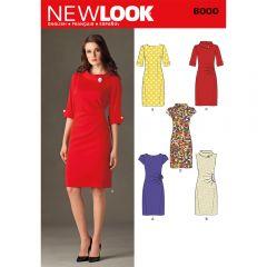 Retro Dresses Sewing Pattern
