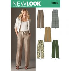 Pull on Trousers Sewing Pattern