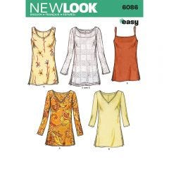 Easy Tops Sewing Pattern