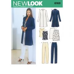 Smart Jacket, Trousers and Top Sewing Pattern