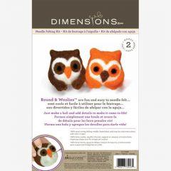 Double Felt Animal Kit- Owls