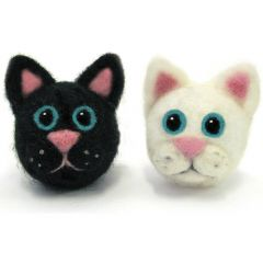 Double Felt Animal Kit- Cats