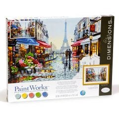 Paint By Number Kit- Paris