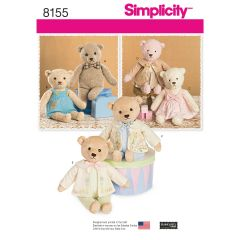 Teddy & Outfits Sewing Pattern
