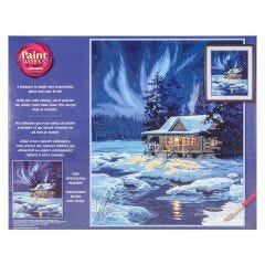 Paint By Number Kit- Cabin