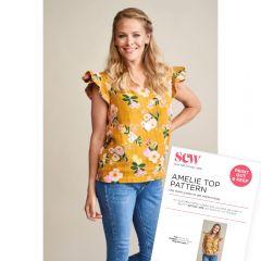 FREE Amelie Top Sewing Pattern