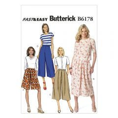 Culottes Sewing Pattern