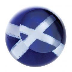 Caithness Scottish Saltire Paperweight