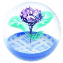Caithness Thistle Paperweight