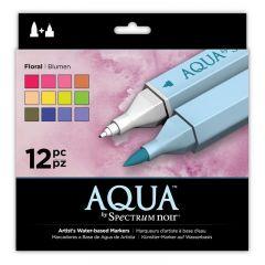 Aqua By Spectrum Noir - Floral (12PC)