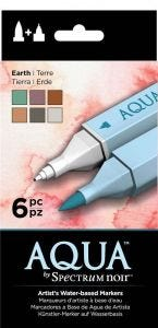Aqua by Spectrum Noir (6PC) – Earth