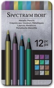 Spectrum Noir Metallic Pencils (12 pk)