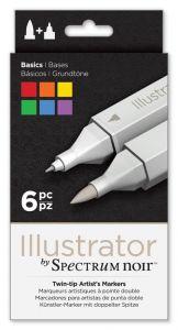 Spectrum Noir Illustrator (6PC) - Basics