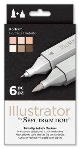 Spectrum Noir Illustrator (6PC) - Portrait