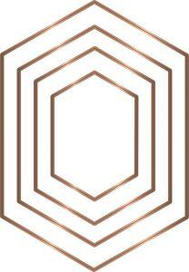 GGemini - Multi Media Die - Patchwork Dies - Elongated Hexagon