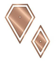 Gemini - Multi Media Die - Patchwork Dies - 60° Diamonds