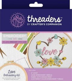Threaders - Embroidery Kit - Love
