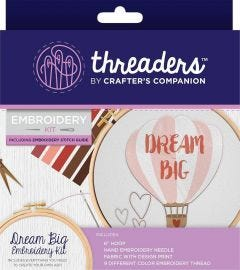 Threaders - Embroidery Kit - Dream Big