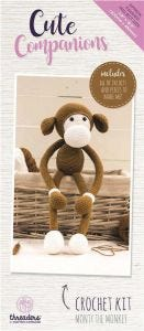 Cute Companions - Monty the Monkey Crochet Kit