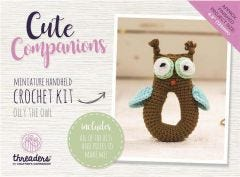 Cute Companions -  Olly the Owl Miniature Handheld Crochet Kit