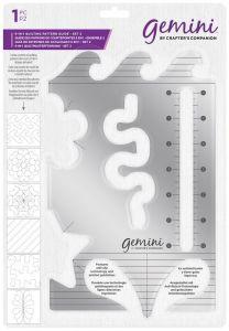 Gemini - 6-in-1 Quilting Pattern Guide - Set 2