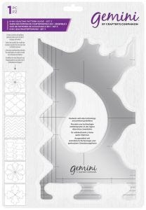 Gemini - 6-in-1 Quilting Pattern Guide - Set 3