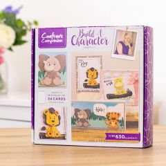 Crafters Companion Build-a-Character Craft Kit