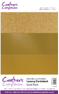 Luxury Cardstock Pack - Gold