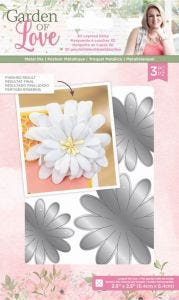Garden of Love - Metal Die - 3-D Layered Daisy
