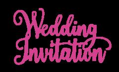 Garden of Love - Metal Die - Wedding Invitation