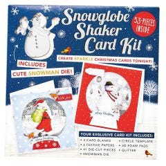 Snowglobe Shaker Card Kit