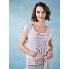 Cold Shoulder Top Knitting Pattern