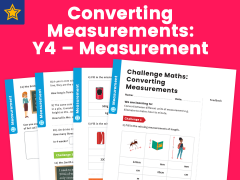 Converting Measurements Year 4 Measurement Maths Challenge