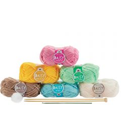 Daisy Yarn Kit