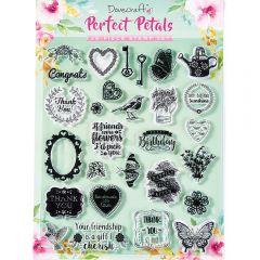 Dovecraft Perfect Petals Stamp Set