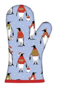 Cosy Penguins Oven Gauntlet