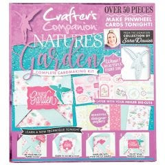 Crafter's Companion Nature's Garden Card Kit