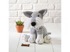 Knitted Schnauzer Colour Pack - Dera-Dogs in Deramores Studio DK