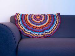 Mandala Blanket Crochet Kit and Pattern