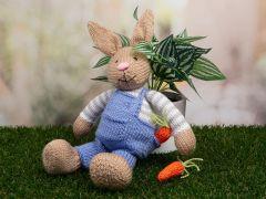 Bunny Rabbit Knitting Kit and Pattern