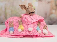 Newborn Baby Girl Set (Bunny) Knitting Kit and Pattern