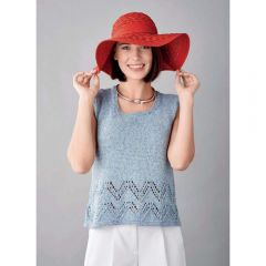 Denim Vest Top Knitting Pattern