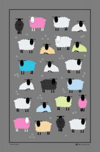 Ewe Beauty Linen Union Tea Towel