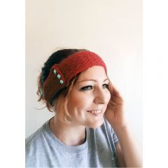 Faux Cable Headband Knitting Pattern