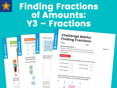Finding Fractions of Amounts Year Three